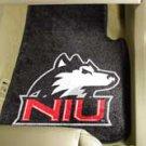 Northern Illinois University NIU 2 pc Carpeted Floor mats