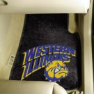 Western Illinois University 2 pc Carpeted Floor mats