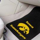 University of Iowa Hawkeyes  2 pc Carpeted Floor mats