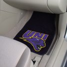University of Northern Iowa  2 pc Carpeted Floor mats