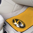 University of Missouri 2 pc Carpeted Floor mats