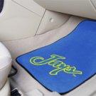 Creighton University Jays  2 pc Carpeted Floor mats