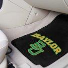 Baylor University BU 2 pc Carpeted Floor mats
