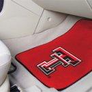 Texas Tech University  2 pc Carpeted Floor mats