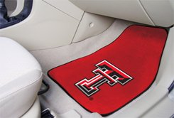 Texas Tech University  2 pc Carpeted Floor mats