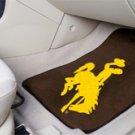University of Wyoming Cowboy Logo 2 pc Carpeted Floor mats