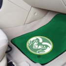 Colorado State University Ram Logo 2 pc Carpeted Floor mats