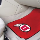 University of Utah 2 pc Carpeted Floor mats