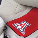 University of Arizona 2 pc Carpeted Floor mats