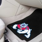 Fresno State 2 pc Carpeted Floor mats