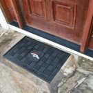 "NFL -Denver Broncos Door Mat Heavy Duty Vinyl 18""x30"""
