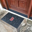 "MLB -Boston Red Sox Door Mat Heavy Duty Vinyl 18""x30"""