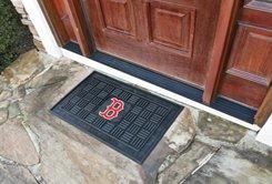 """MLB -Boston Red Sox Door Mat Heavy Duty Vinyl 18""""x30"""""""