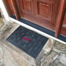 "MLB -Cleveland Indians Door Mat Heavy Duty Vinyl 18""x30"""