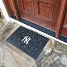 """MLB -New York Yankees Door Mat Heavy Duty Vinyl 18""""x30"""""""