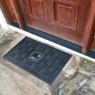 "NHL-San Jose Sharks Door Mat Heavy Duty Vinyl 18""x30"""