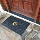 NHL-Boston Bruins Door Mat Heavy Duty Vinyl 18&quot;x30&quot;