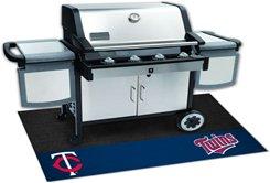 MLB-MINNESOTA TWINS  BBQ Grill Decorative Grease Mat