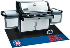 MLB-CHICAGO CUBS  BBQ Grill Decorative Grease Mat