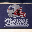 "NFL -New England Patriots 19""x30"" carpeted bed mat"