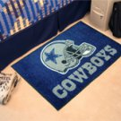 "NFL -Dallas Cowboys 19""x30"" carpeted bed mat"