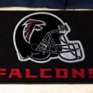 "NFL -Atlanta Falcons 19""x30"" carpeted bed mat"