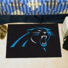 NFL -Carolina Panthers 19&quot;x30&quot; carpeted bed mat