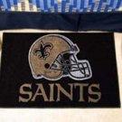 "NFL -New Orleans Saints 19""x30"" carpeted bed mat"