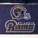 "NFL -St. Louis Rams 19""x30"" carpeted bed mat"