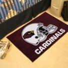 """NFL -Arizona Cardinals 19""""x30"""" carpeted bed mat"""