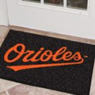 "MLB-Baltimore Orioles 19""x30"" carpeted bed mat"