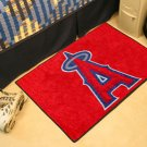 """MLB-Los Angeles Angels 19""""x30"""" carpeted bed mat"""