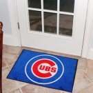 """MLB-Chicago Cubs 19""""x30"""" carpeted bed mat"""