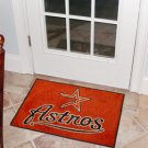 """MLB-Houston Astros 19""""x30"""" carpeted bed mat"""