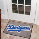 "MLB-Los Angeles Dodgers 19""x30"" carpeted bed mat"