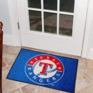 "MLB-Texas Rangers 19""x30"" carpeted bed mat"