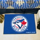 "MLB-Toronto Blue Jays 19""x30"" carpeted bed mat"