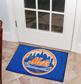"MLB-New York Mets 19""x30"" carpeted bed mat"