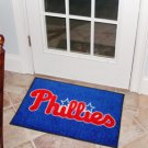 "MLB-Philadelphia Phillies 19""x30"" carpeted bed mat"