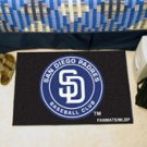 """MLB-San Diego Padres 19""""x30"""" carpeted bed mat"""