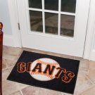 "MLB-San Francisco Giants 19""x30"" carpeted bed mat"