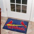 "MLB-St. Louis Cardinals 19""x30"" carpeted bed mat"