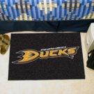 """NHL-Anaheim Ducks 19""""x30"""" carpeted bed mat"""