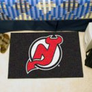 """NHL-New Jersey Devils 19""""x30"""" carpeted bed mat"""