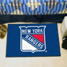 "NHL-New York Rangers 19""x30"" carpeted bed mat"