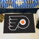 "NHL-Philadelphia Flyers 19""x30"" carpeted bed mat"