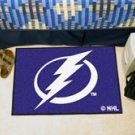 "NHL-Tampa Bay Lightning 19""x30"" carpeted bed mat"