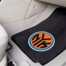 NBA- New York Knicks 2 pc Carpeted Floor mats Front