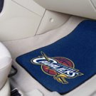NBA- Cleveland Cavaliers 2 pc Carpeted Floor mats Front