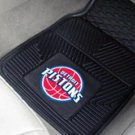 NBA-Detroit Pistons 2 pc Heavy Duty Vinyl Floor mats Front
